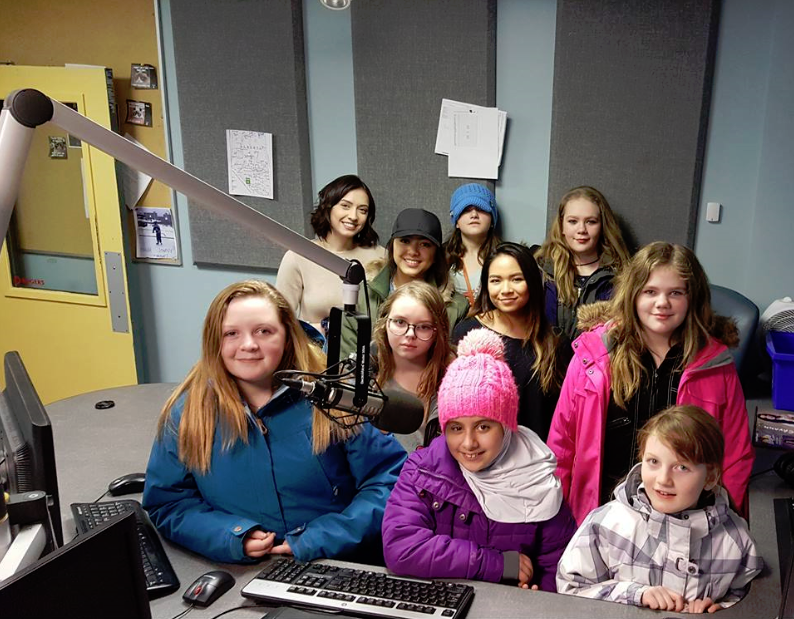 Girls Inc of Northern Alberta Staying Strong Mentoring Group
