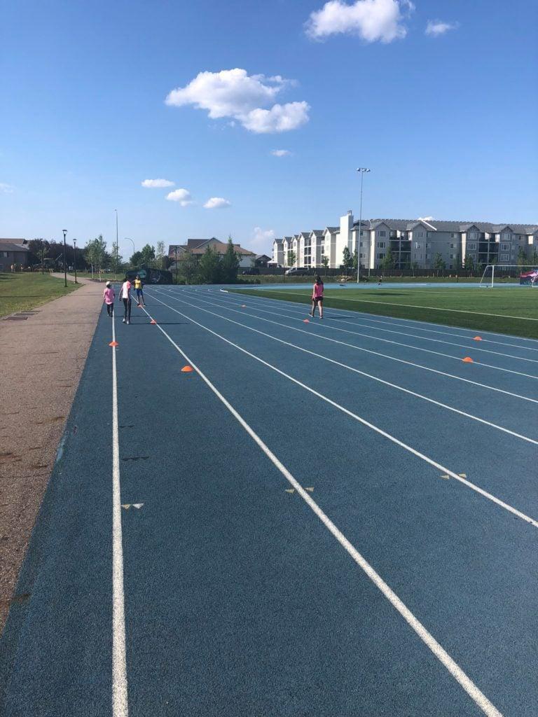 Girls Inc of Northern Alberta Run Club 2019